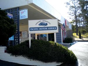 Pacific Motor Service's Pacific Grove location.
