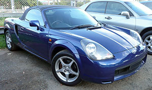 """A sporty little MR2 like this showed up at our shop with a host of problems. Careful planning and following our diagnostic procedures would be key to creating a repair plan for this """"basket case."""""""