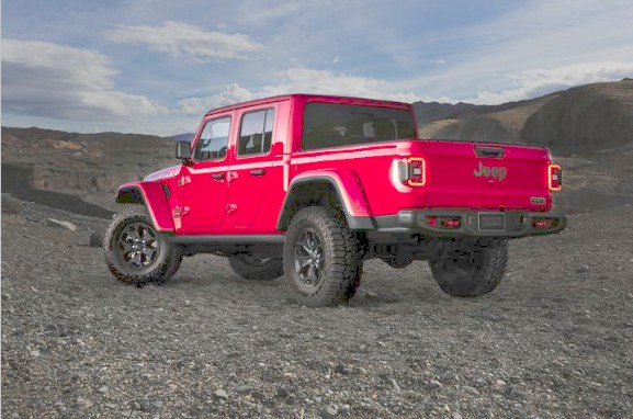 limited-run all-new 2020 jeep® gladiator 'launch edition