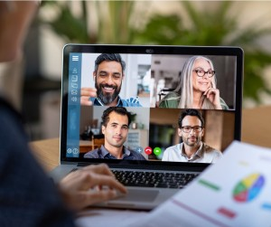 Smart Working And Video Conference Picture Id1213470229