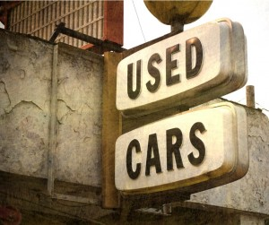 Used Cars Sign Picture Id1026976462