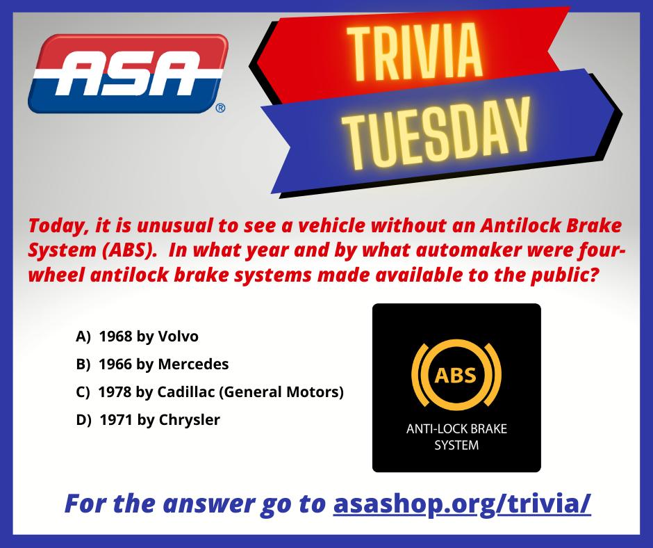 Trivia Antilock Brake