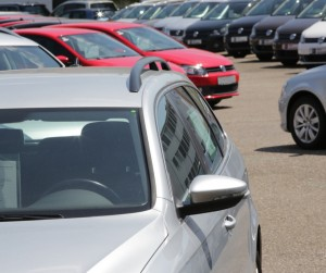 Cars On A Used Car Market Picture Id501173417